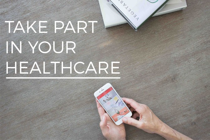 Take Part in Your Healthcare Banner